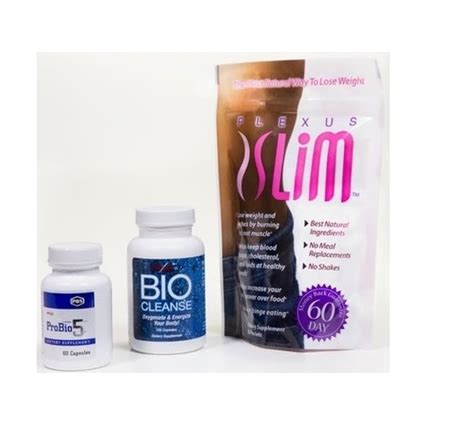 Plexus Triplex Detox Symptoms by Triplex Combo 30 Day Supply Of Plexus Slim Probio5 And