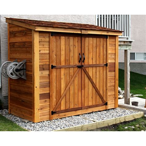 Exterior Shed Doors Garden Shed With Doors Shed Firewood Storage Outdoor Living Doors And
