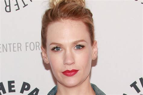 January Jones' Casual Style Is Out Of Sync With 'Mad Men