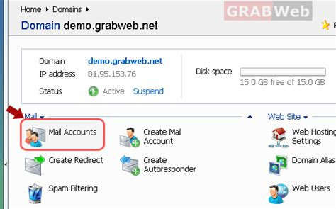 yahoo email quota how to create new email account in plesk 9 5