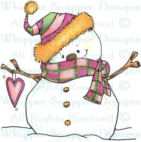 snowman rubber st whipper snapper design
