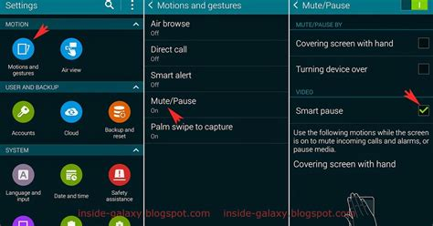 samsung galaxy s5 how to use quick settings panel in samsung galaxy s5 how to enable and use smart pause in