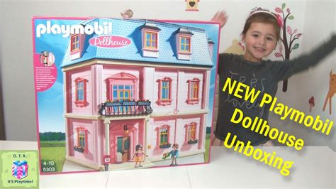 play mobile doll house new playmobil 5303 romantic dollhouse unboxing little