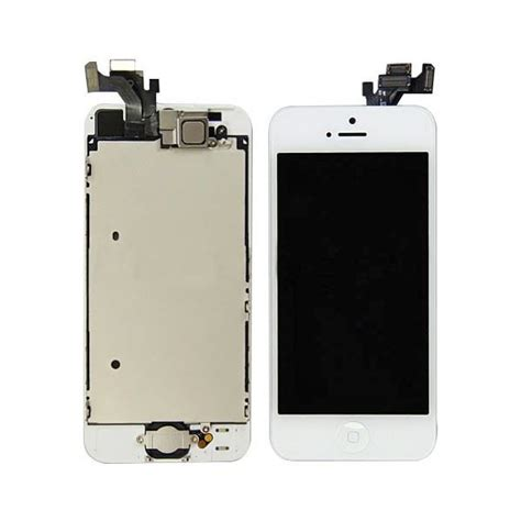 Lcd Iphone 5 3g By Ozi84 ecran complet original retina iphone 5 blanc achat ecran