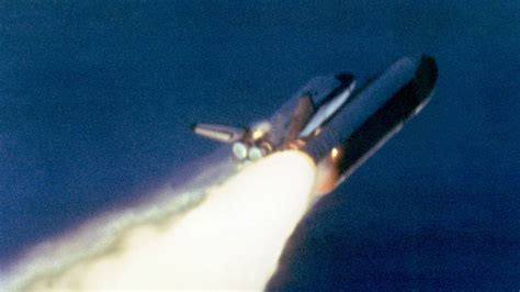 the explosion of the space shuttle challenger space shuttle challenger disaster nbc news
