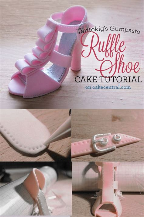 fondant shoe template for cupcakes best 25 fondant shoe tutorial ideas on baby