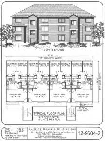 12 unit apartment building plans