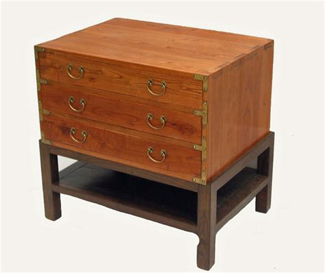 asian accent table three drawers accent table asian side tables and end