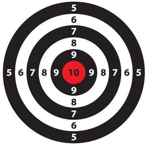 free printable shooting targets for pistol rifle airgun free printable shooting targets for pistol rifle airgun
