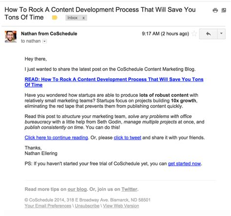 blogger email how to promote your blog with 107 content promotion tactics