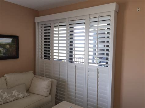 Bypass Shutters For Patio Doors by Bypass Shutters For Patio Doors Icamblog
