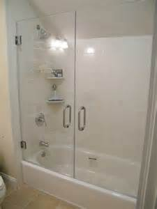 replacement of shower doors for tub