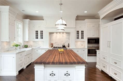 kitchen islands with butcher block tops 20 gorgeous exles of wood laminate flooring for your kitchen