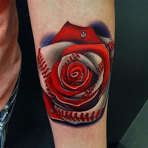 rose themed tattoo amazing beach scene tattoo on right half sleeve by andres