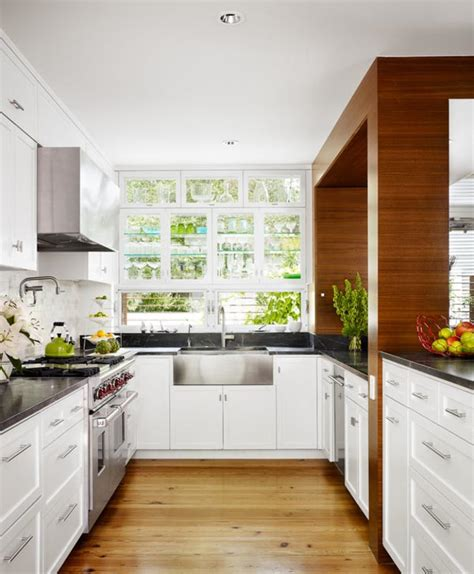 Small White Kitchen Design Ideas by 41 Small Kitchen Design Ideas Inspirationseek