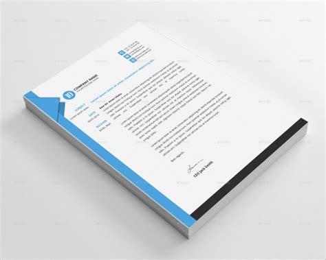 custom letterhead template psd eps ai