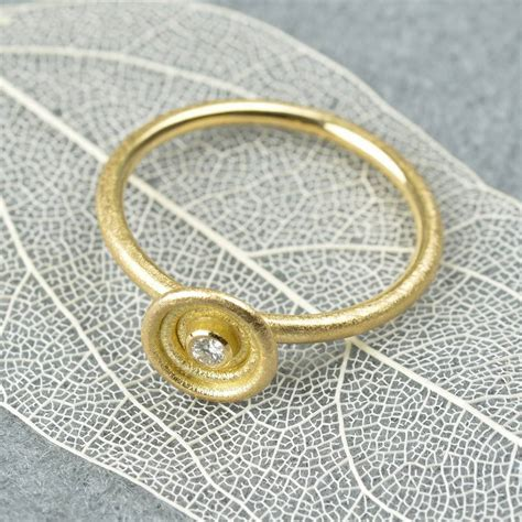 No Gold At Goldsmiths by 18ct Gold And Ring By Mh Goldsmith