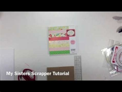 scrapbooking tutorials mini album sisters 20 best my sisters scrapper mini album tutorial images on