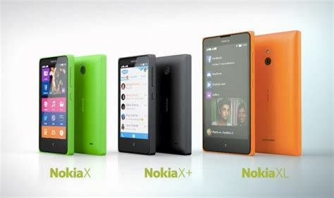 Hp Nokia X Family mwc 14 nokia x android smartphone series goes official