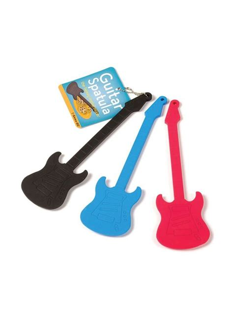 Spatula Wox electric guitar baking spatula black accessories