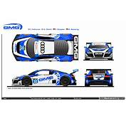 Daytona 24 Hour Audi R8 LMS GTD Driver Lineups Liveries