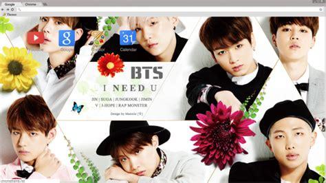 kpop theme makers bts wallpaper chrome theme themebeta