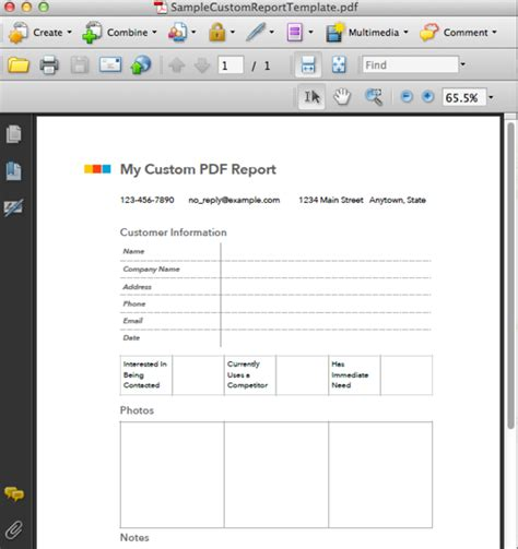 adobe acrobat form templates custom pdf reporting fastfield mobile forms help center