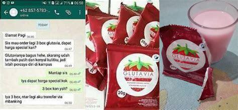 Glutavia Strawberry Drink Untuk Program glutavia strawberry drink manfaat glutavia jual
