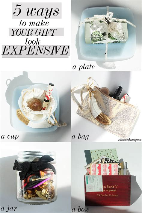 expensive christmas gift ideas 5 ways to make your gift look expensive citizens of