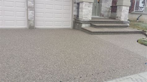 Patio Pavers Guelph Exposed Aggregate Concrete Driveway Driveway Paving