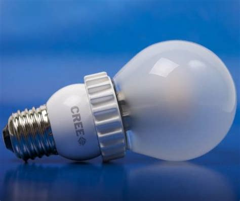 Led Light Bulb Cost Low Cost Led Bulb From Cree Breaks 10 Barrier