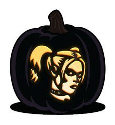 harley quinn pumpkin template pumpkin carving on harley quinn pumpkin
