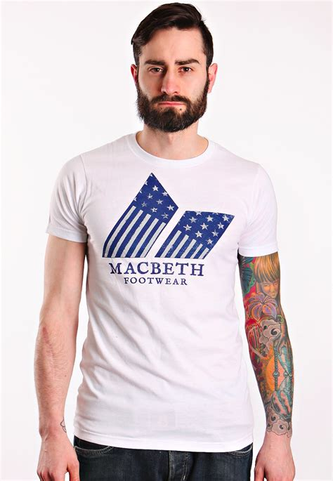 T Shirt Macbethcom W7qe macbeth americana white t shirt impericon uk