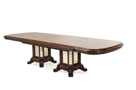 Espresso Pedestal Dining Table Platine De Royale 88 Quot 135 Quot Pedestal Dining Table In Light Espresso