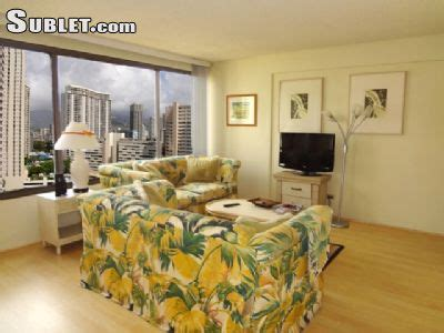 1 bedroom apartments for rent in oahu honolulu furnished 1 bedroom apartment for rent 2900 per