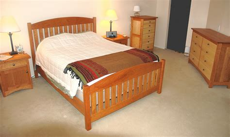 solid cherry wood bedroom furniture solid cherry and maple bedroom set boulder furniture arts