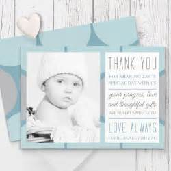beautiful baptism christening thank you cards printed both sides australia