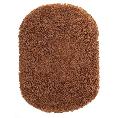 oval shag rug home decorators collection ultimate shag camel 5 ft x 7 ft oval area rug 2987890830 the home