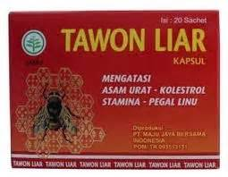 obat herbal kapsul tawon liar asli herbal plaza