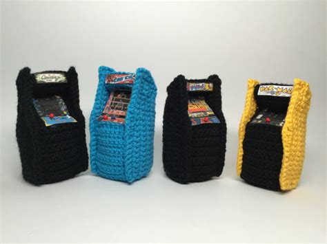 crochet pattern video game retro video game arcade console crochet pattern amigurumi