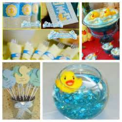 duck theme baby shower party ideas pinterest