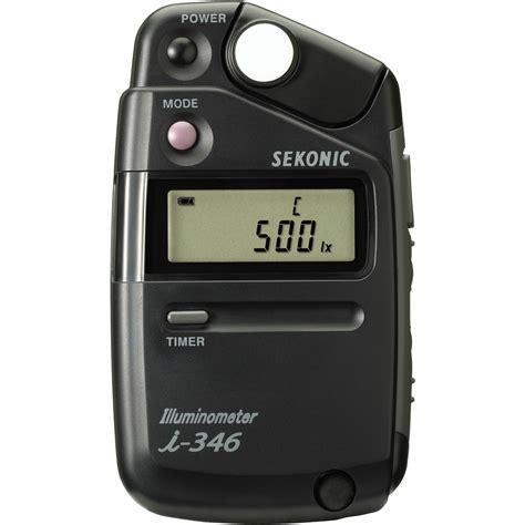 Light Meters by Sekonic Illuminometer I 346 Light Meter 401 346 B H Photo