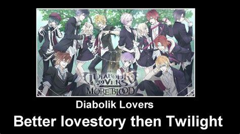 Meme Lovers - diabolik lovers better lovestory by mewnadjaxjackfrost on