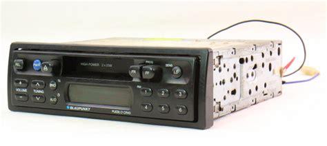 blaupunkt pueblo cr vintage tape deck player car radio head unit cassette