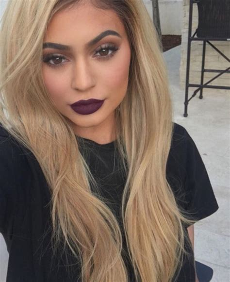 blonde hairstyles instagram hair accessory make up kylie jenner blonde hair