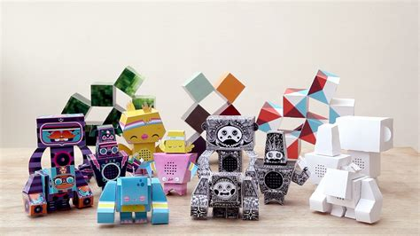 How To Make Cool Paper Toys - readiymate papercraft plus wifi makes for interesting new