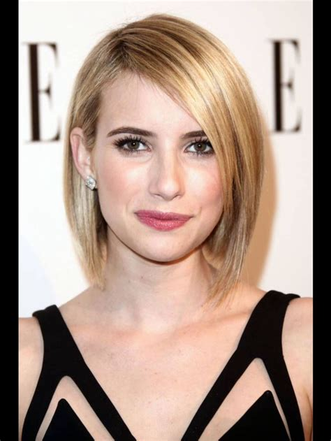 short hair just above the shoulders layered with a fringe 18 best images about one length on pinterest the