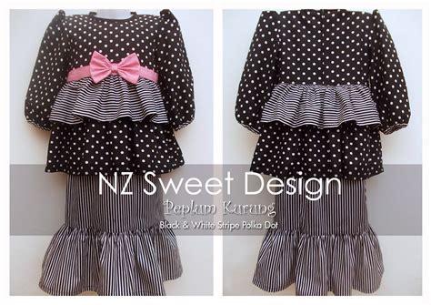 Sale Peplum Stripy Dress Baju Terusan Anak Perempuan 2 3 Tahun nz sweet design peplum kurung utk kanak kanak