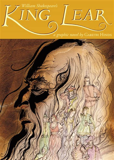 themes in the book king lear king lear a graphic novel at garethhinds com