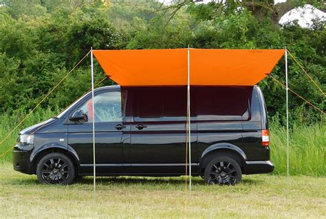vw transporter t5 awning vw t4 t5 t6 sun canopy awning brilliant orange